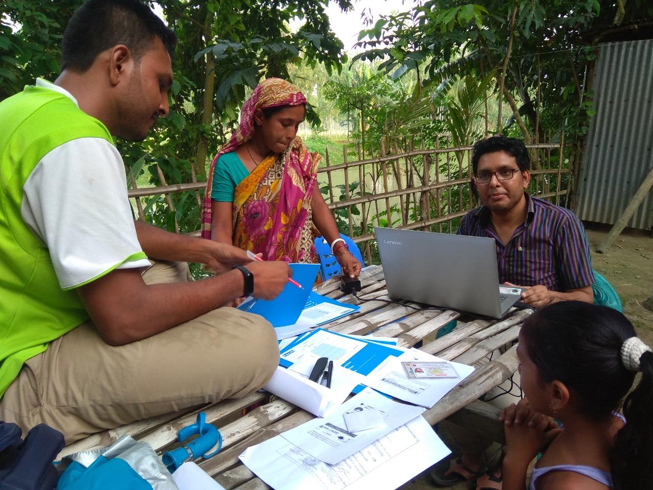 Opening Agent Bank Account at kotokgacha Chor, Phulchori, Gaibandha